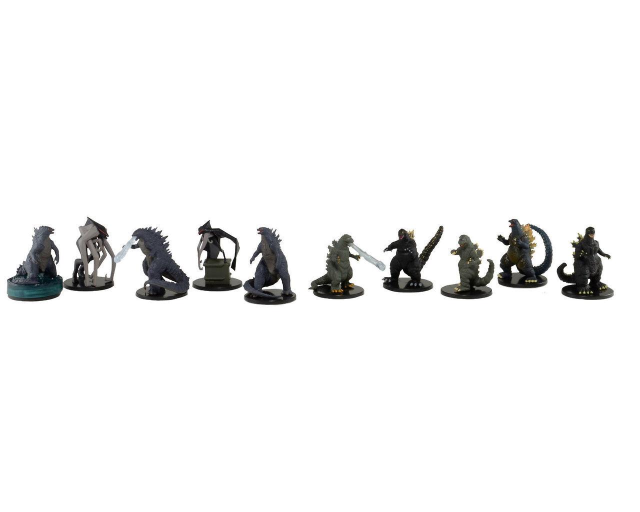 Neca S Mini Godzilla And Muto Figures Revealed