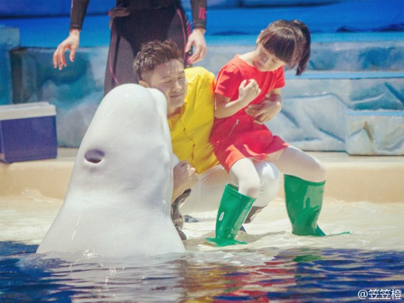 Tian Liang whale kiss