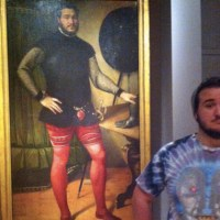 Covers reais de pinturas antigas
