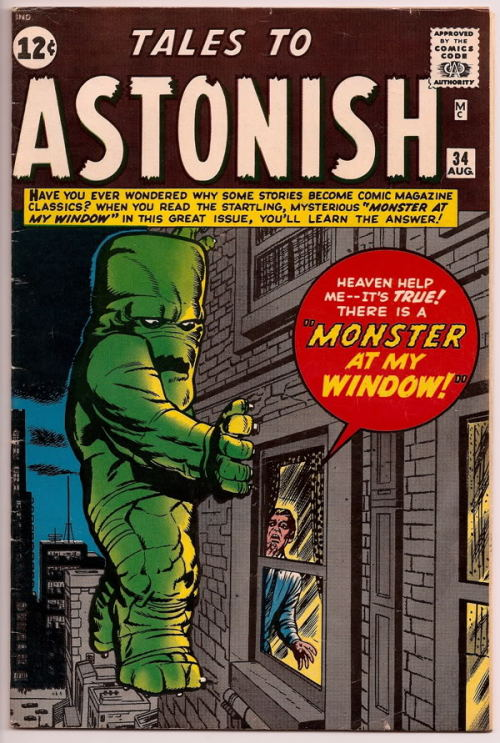 jack kirby tales to astonish