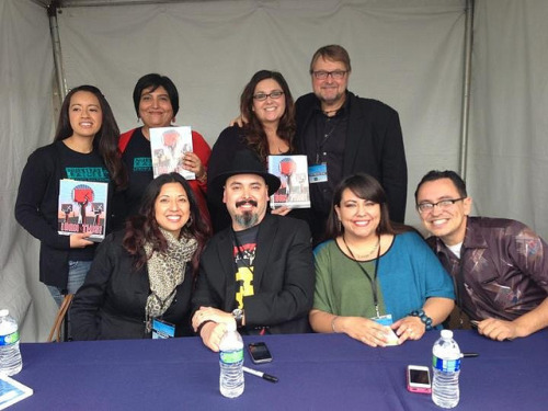Signing books with the crew! TFOB 2013 on Flickr.