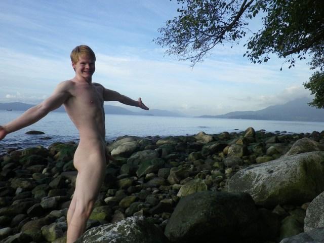 nude boy