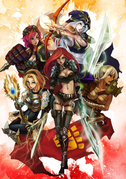 league-of-legends-fan-art:Another piece of amazing artwork!Credits go to MonoriRogue