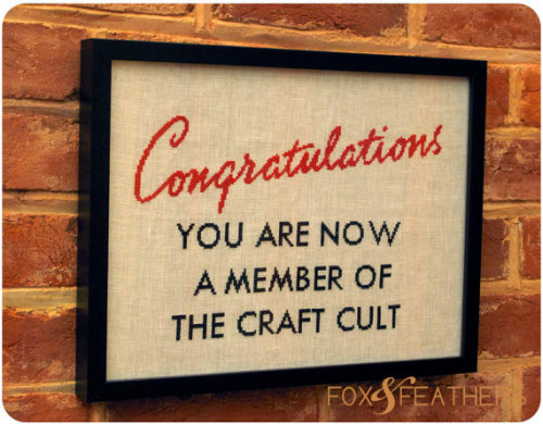 Craft Cult by foxandfeathers