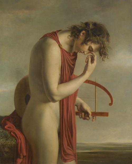 monsieurlabette:  Attributed to Hugues Jean François Paul Duqueylard (French, 1771-1845), Orpheus. Oil on canvas, 99 x 80cm.