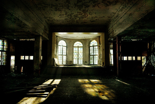 Abandoned Baraque, Russia by Annie-Bertram