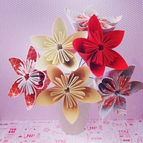 Crafts origami kusudama paper flower bouquet agnes maurice agnes maurice kusudama origami paper flower bouquet mightylinksfo