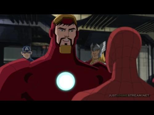 Spiderman Iron Man The Avengers Captain America Thor