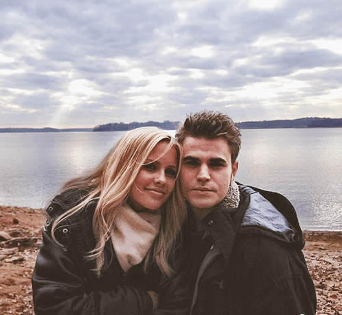 stefan and rebekah paul wesley claire holt