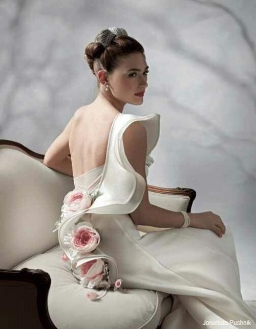 audreylovesparis:</p> <p>Vintage Dior Haute Couture<br />