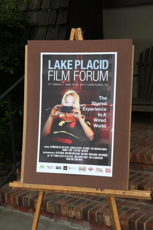 Lake Placid Film Forum Poster