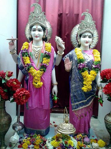 Inside Shri Lakshminarayan Temple, Singapore