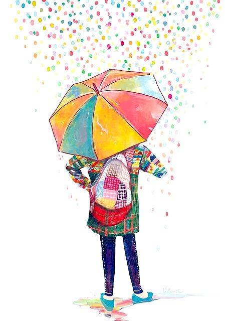Resultado de imagen de lluvia de colores