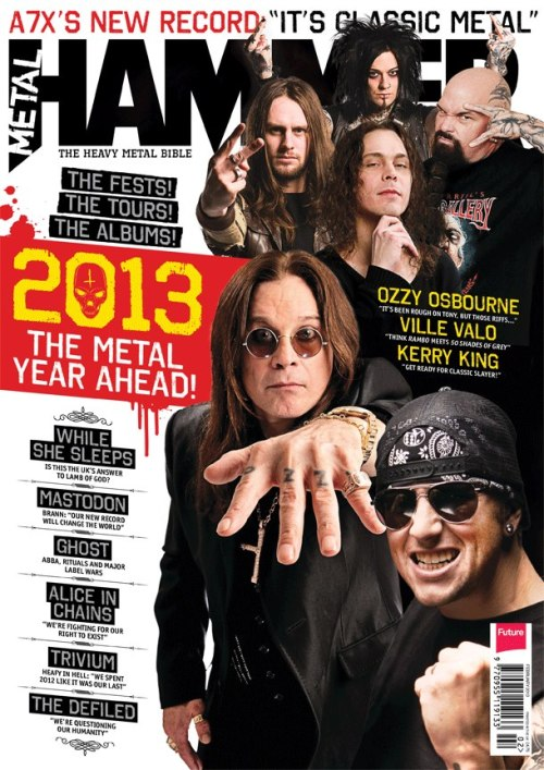 Metal Hammer magazine Feb 2013