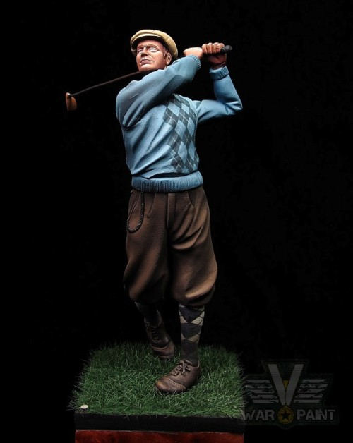 Golf Vintage / Nino Lorenzoni Figures 75mm