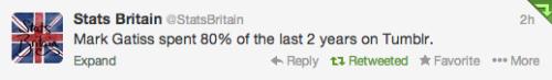 BBC Sherlock Mark Gatiss tumblr 221b-benedict-cumberbatch:accurate image