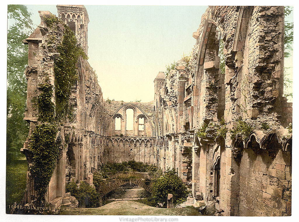 [Abbey, St. Joseph's Chapel, Glastonbury, England]  (LOC)