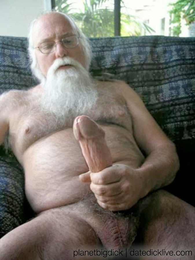 Old men with big cock