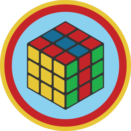 Lifescouts: Rubiks Cube Solving BadgeIf you have this badge, reblog it and share your story! Look through the notes to read other people's stories.Click here to buy this badge physically (ships worldwide).Lifescouts is a badge-collecting community of people who share real-world experiences online.