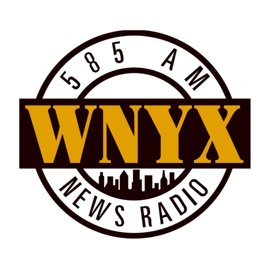 WNYX logo from NewsRadio - 1990s
