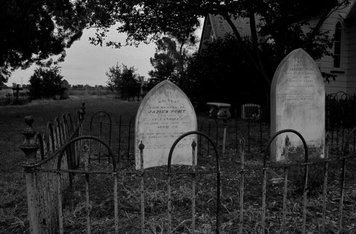 WHY DO I LIKE CEMETERIES?<br /> WHY AM I OBSESSED WITH DEATH?<br /> I LOVE MURDER MYSTERIES,<br /> HAUNTED HOUSE, VAMPIRES,<br /> WITCHES, DEMONS, GHOSTS, AND<br /> ANY OTHER CREATURE OF THE DARK.<br /> WHEN I FIND THE ANSWER, I'LL LET<br /> YOU KNOW.<br /> BUT FOR NOW, I WILL READ AND<br /> WRITE MY MURDER MYSTERIES.