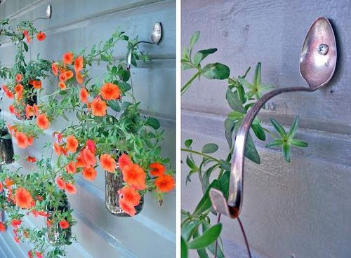 DIY Old Cutlery Hooks and Hangers DIY Projects / UsefulDIY.com