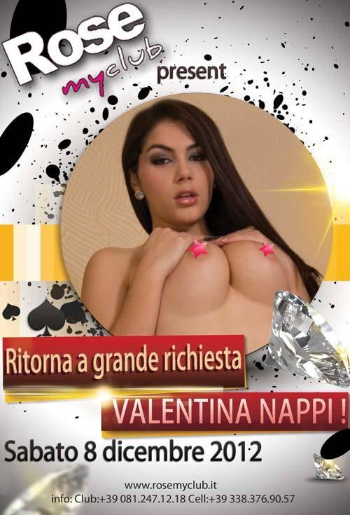 Valentina Nappi live show 8 dicembre 2012 a Napoli
