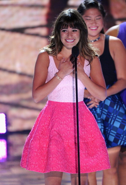 Lea Michele thanks fans for love and support at the Teen Choice Awards.  Full transcript of her remarks here.