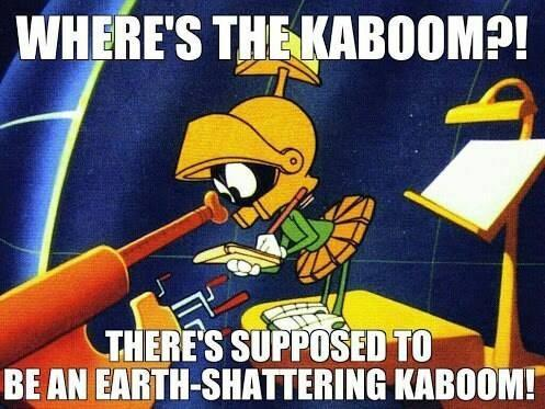 Marvin the Martian's Lost Kaboom
