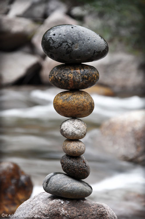Life is a balancing act.<br /> Some people do it better than others.