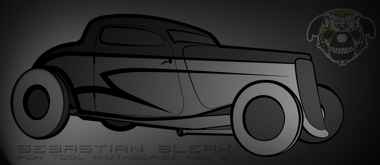 Black Car illustration