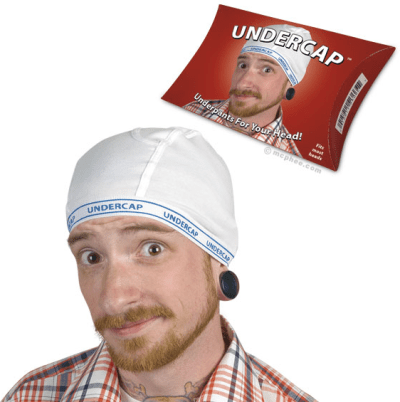 Cap That Looks Like A Pair of Underwear