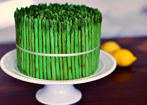 60gritbeard:  When an Asparagus Cake Just Makes Good Sense