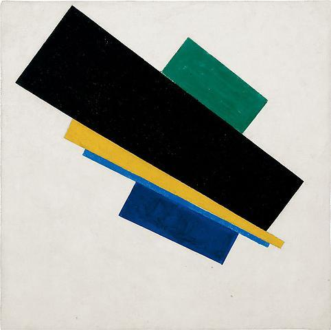 Suprematism, 18th Construction (1915), Kazimir Malevich