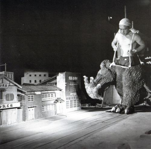 Making of Godzilla?