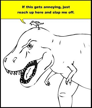 Messin' with T-Rex