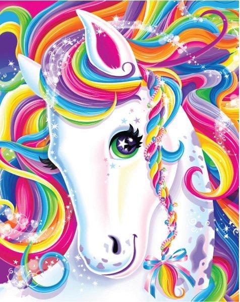 lisa frank horse