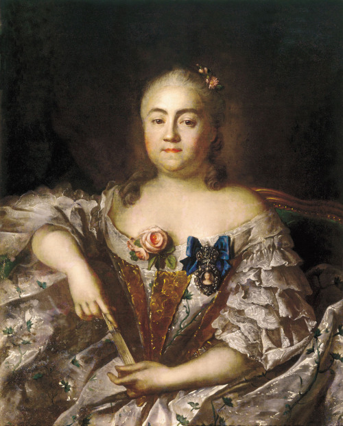 Countess Varvara Sheremeteva by Ivan Argunov, 1760