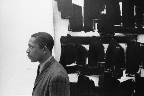 jesuisperdu:  John Coltrane at the Guggenheim, New York City, 1960