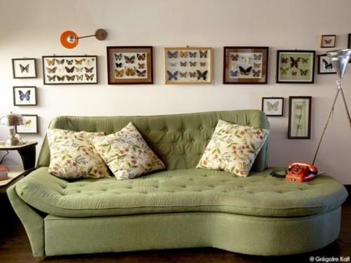 White Rustic Living Room Furniture