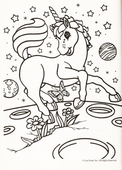Lisa Frank Animals Coloring Sheets