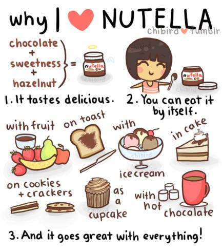 why I <3 Nutella