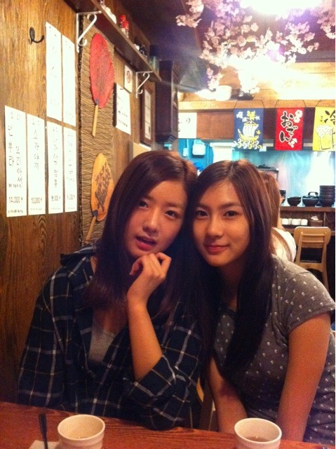 [TWITTER] Bomi and Hayoung  Credits: @B2ST74 at Twitter