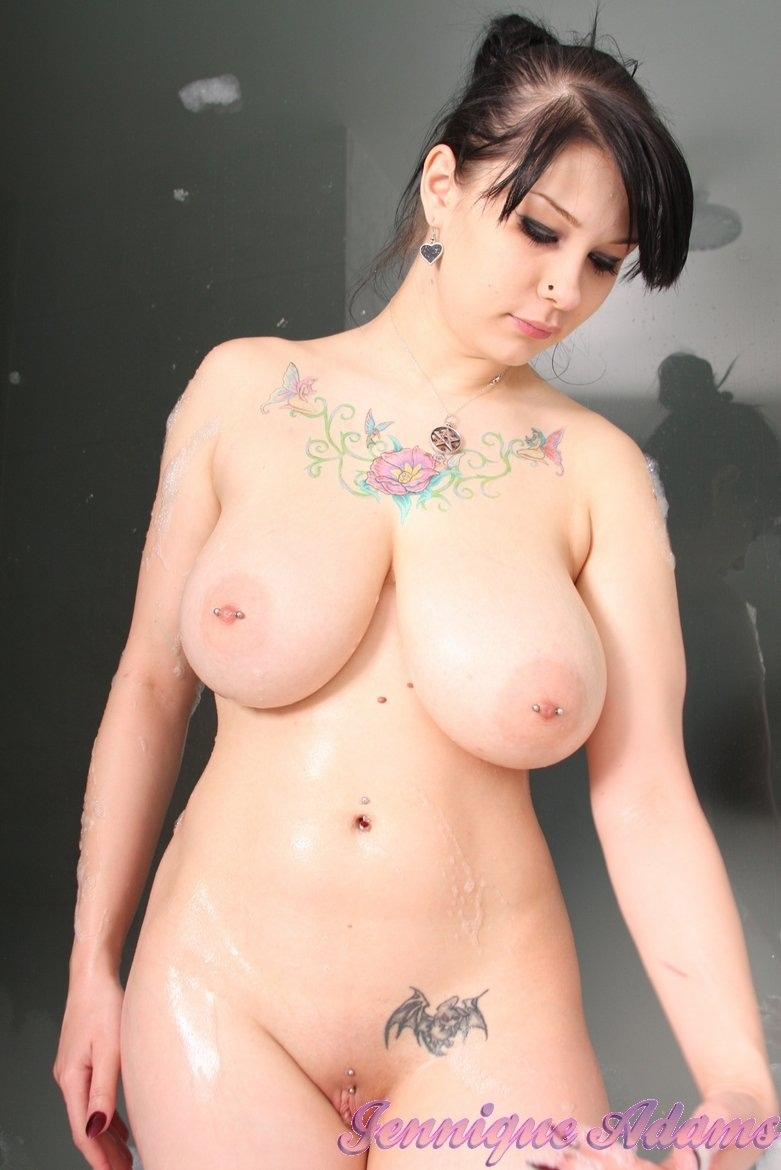 Naked female gothic with big tits Naked Big Boobs Goth