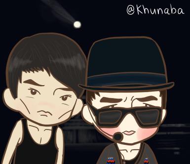 khunaba:</p> <p>Junsu and Taecyeon >0<<br />