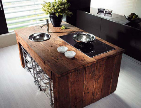 rustic wood island<br /><br /><br /><br /><br /><br /><br />