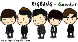 [FANART] BIGBANG for Gmarket