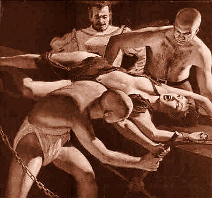inquisition tortura bdsm comic catoon