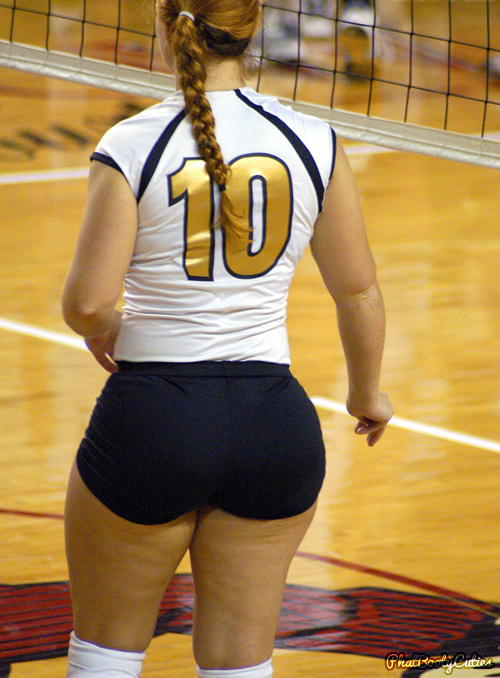 Volleyball phat booty