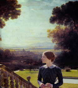 mmorrow: Jane Eyre (2011) Background painting by Claude Lorrain (x)
